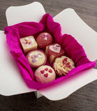"BRUBAKER ""Blossom & Hearts"" Bath Melts Gift Set - Vegan - Organic - Shea Butter"