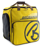 BRUBAKER Ski Bag Combo for Ski, Poles, Boots and Helmet - Limited Edition - Yellow Brown