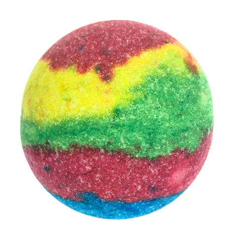 "BRUBAKER Huge Handmade Fizzing Bath Bomb ""Action"" - Bath Fizzer - All Natural, Vegan, Organic Ingredients - Bulk"