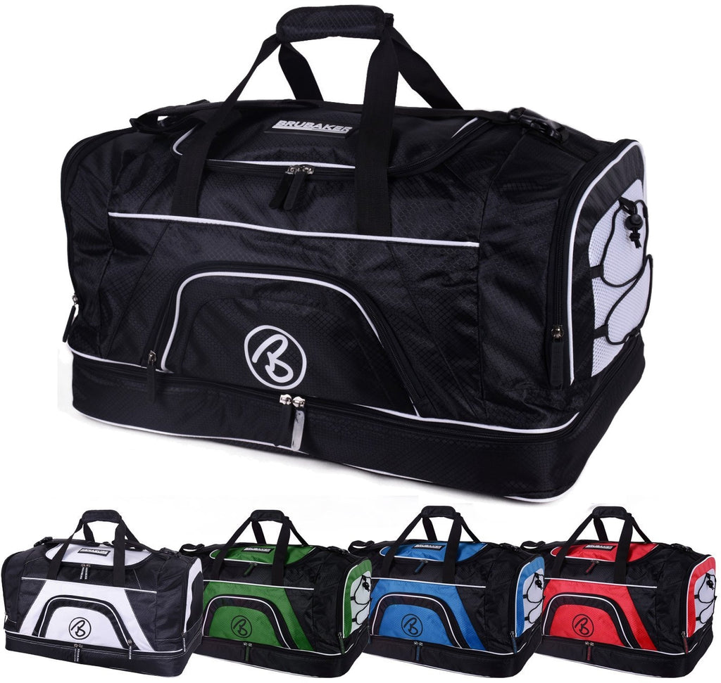 BRUBAKER Big Base XXL Gym Bag With Shoe Compartment