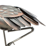 BRUBAKER Wine Bottle Holder 'Flamingo' - Table Top Metal Sculpture