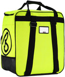 BRUBAKER Set of Ski Bag and Boot Bag Carver Champion - For 1 Pair of Skis + Poles + Boots + Helmet - Neon Yellow / Black