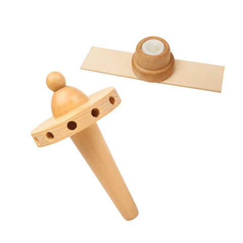 "Top & Nub Replacement Kit for 18""/24"" Natural Pyramid - Fan Blades Holder + Nub (Needle Bearing)"