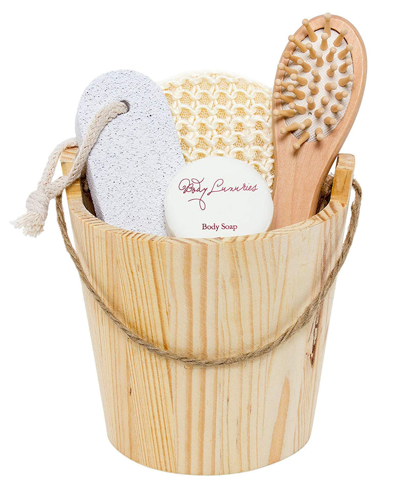 Wooden Barrel Spa Bath & Body Gift Set