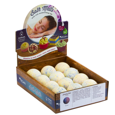 "BRUBAKER ""Dreamy Coco (Coconut)"" Bath Melts 12pcs /Box  - Vegan - Organic - Handmade"