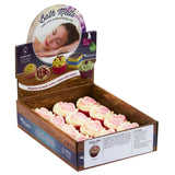 "BRUBAKER ""Lovely Lady (Cranberry)"" Bath Melts 12pcs /Box  - Vegan - Organic - Handmade"