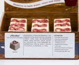 "BRUBAKER ""Heartbeat (Hot Cinnamon Chocolate)"" Bath Melts 12pcs /Box  - Vegan - Organic - Handmade"