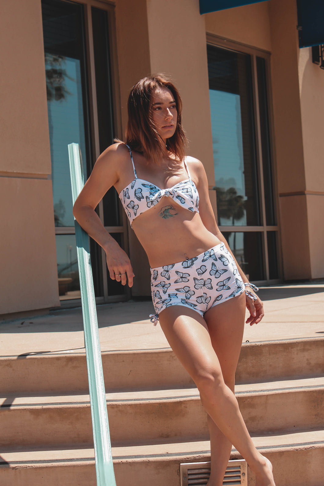 Butterfly Bandeau Top