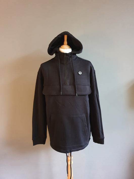 Hooded smock