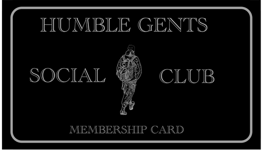 Membership card - Humble Gents Social Club
