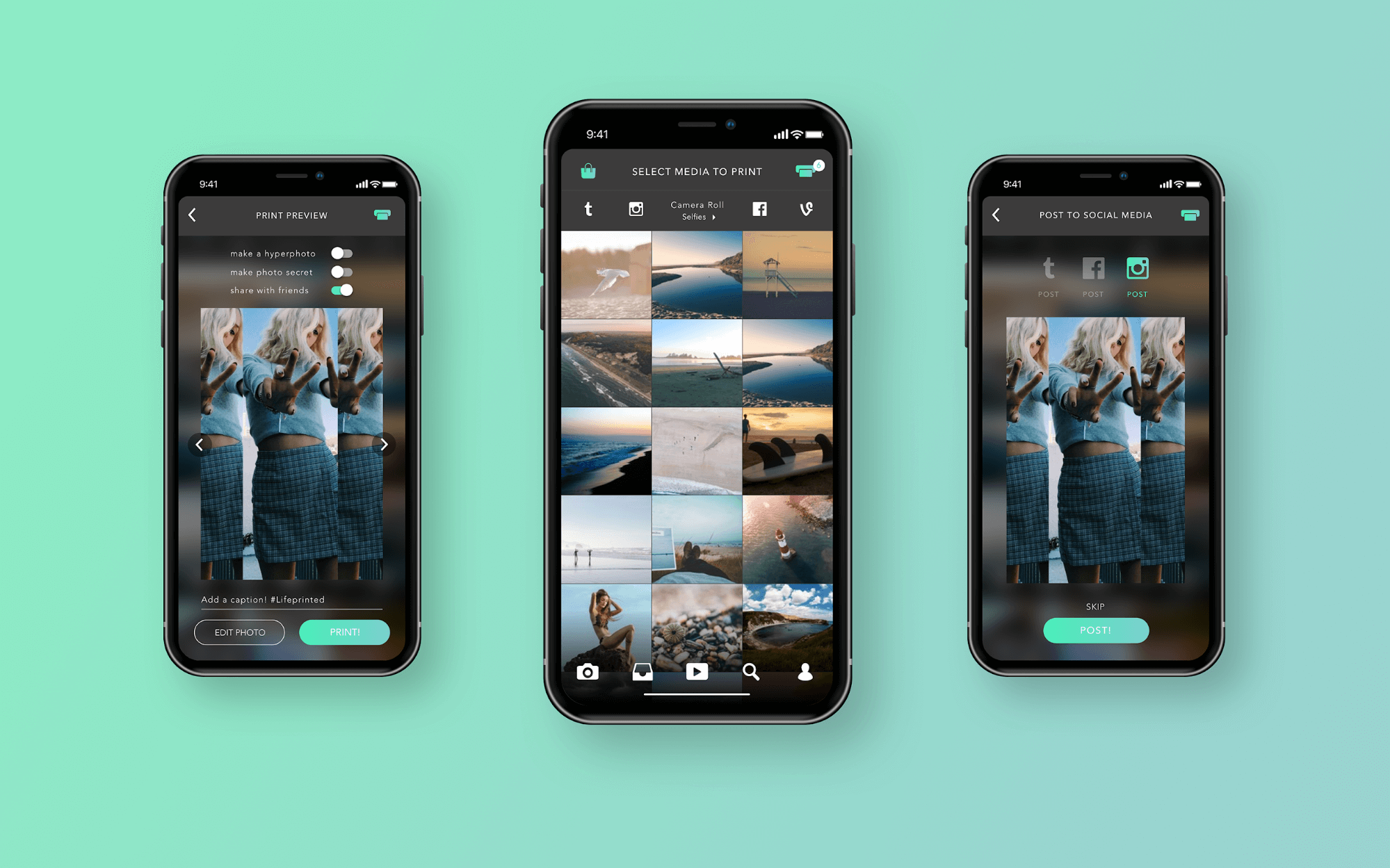 Lifeprint Android And Iphone Photo Printer Make Video Pictures