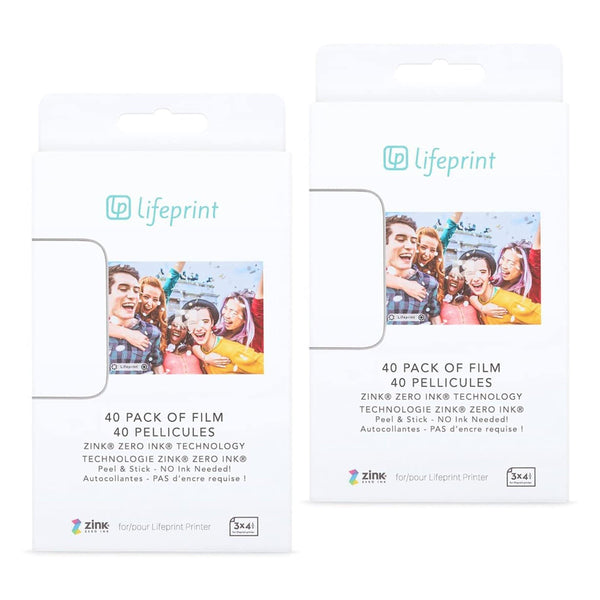 Paper Bundle Lifeprint Photo Paper 3x4.5 80 Pack - Lifeprint Photos