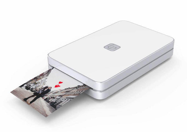 Lifeprint 2x3 Hyperphoto Printer for iPhone & Android - White (Refurbished)