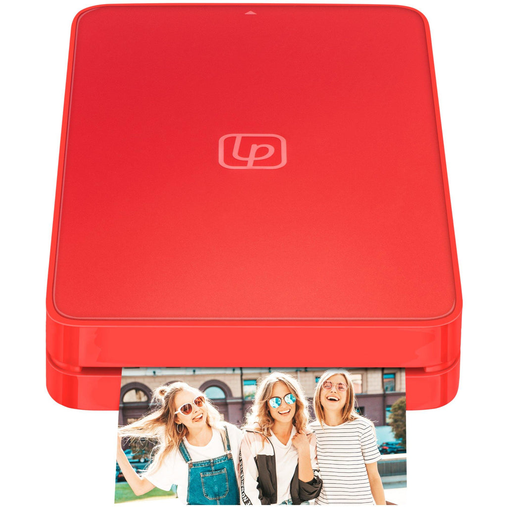 Lifeprint 2x3 Hyperphoto Printer for iPhone & Android - Red *LIMITED EDITION*