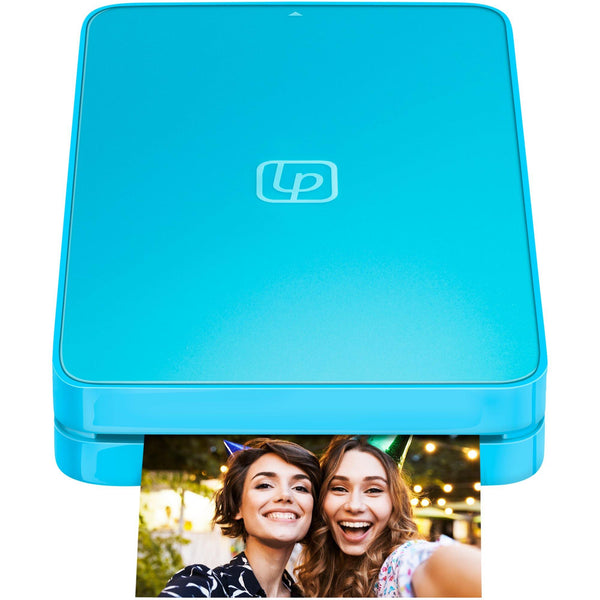 Lifeprint 2x3 Hyperphoto Printer for iPhone & Android - Blue *LIMITED EDITION*
