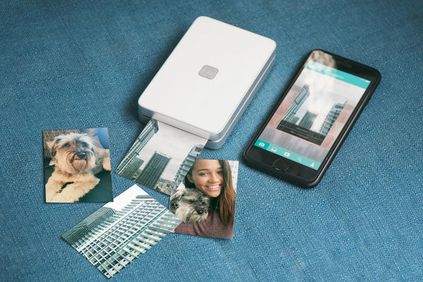 Smartphone, Lifeprint printer, and images - Lifeprint photo printer for iPhone and Android