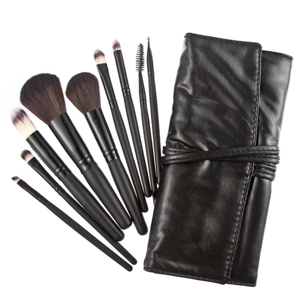 Maquiagem Professional Makeup Brush Set for Makeup Artists (9pcs)