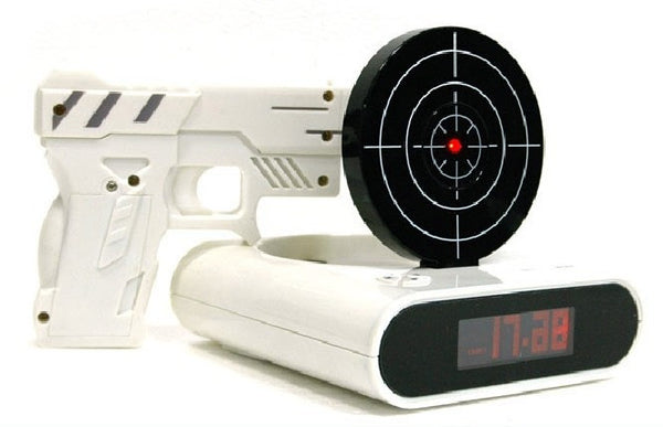 """Target Practice"" Alarm Clock - Sharpshooters Needed!"