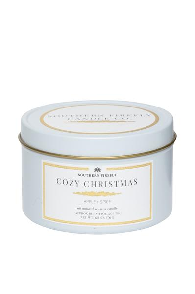 Cozy Christmas 8oz Travel Tin