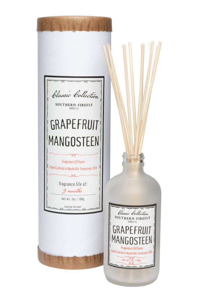 Grapefruit Mangosteen 8oz Reed Diffuser