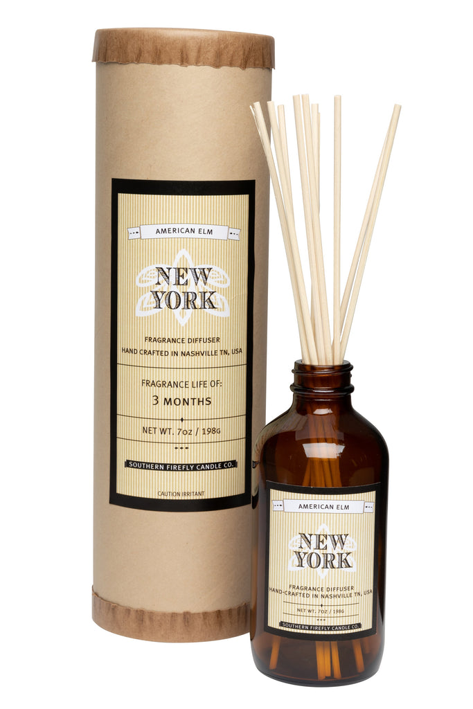 New York - American Elm 8oz Reed Diffuser