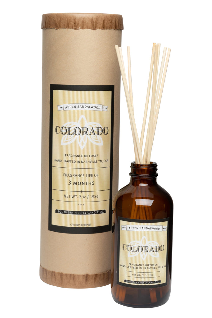 Colorado - Aspen Sandalwood 8oz Reed Diffuser