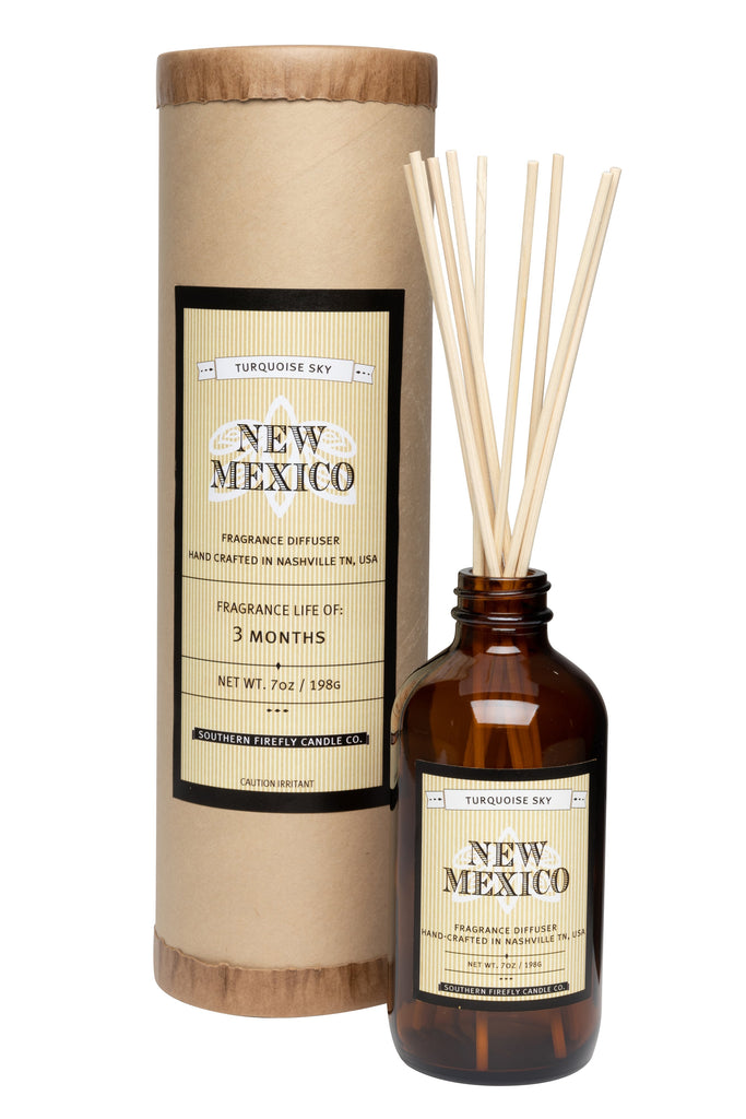 New Mexico - Turquoise Sky 8oz Reed Diffuser