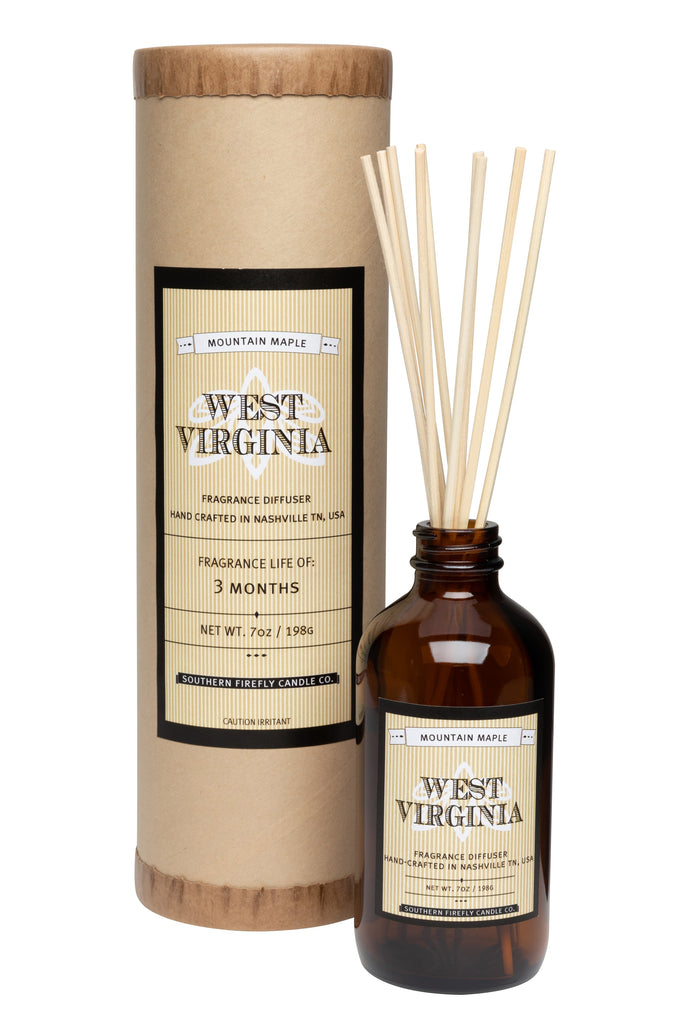 West Virginia - Mountain Maple 8oz Reed Diffuser