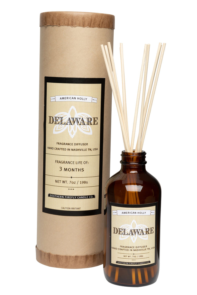 Delaware - American Holly 8oz Reed Diffuser