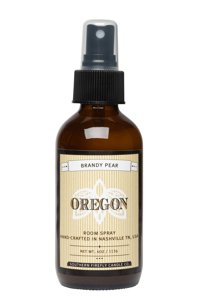 Oregon - Brandy Pear 4oz Room Spray