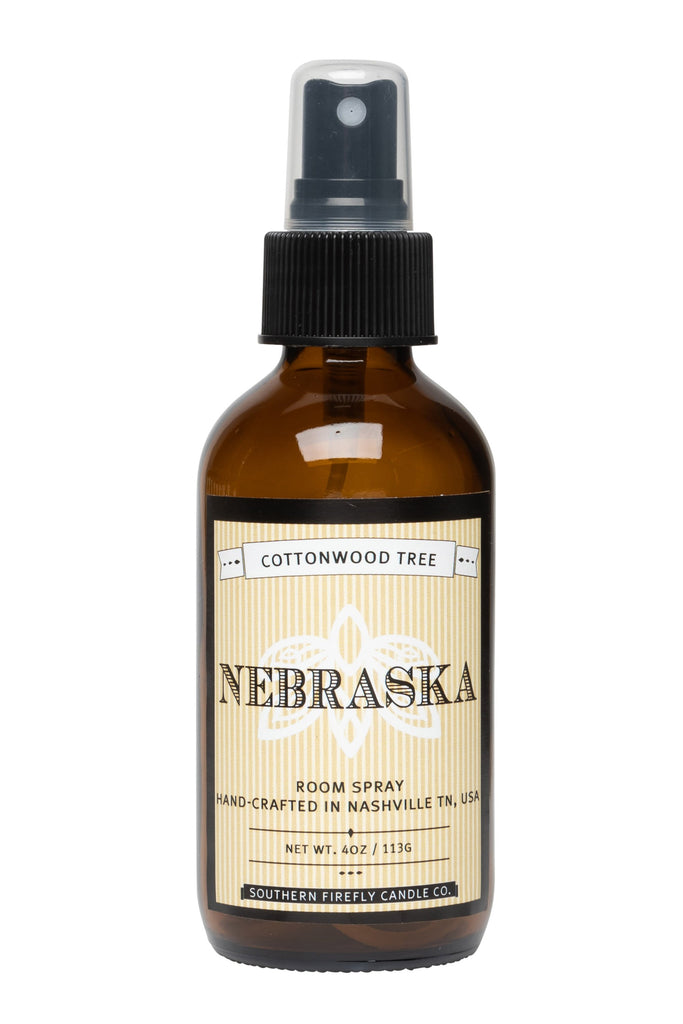 Nebraska - Cottonwood Tree 4oz Room Spray