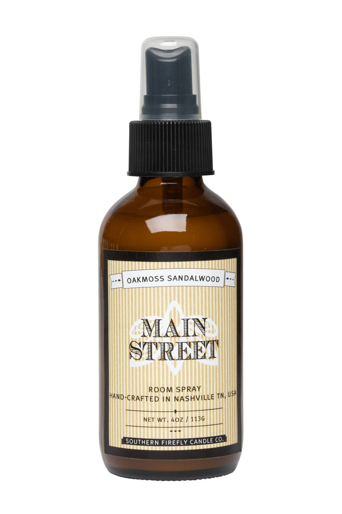 Main Street - Oakmoss Sandalwood 4oz Room Spray
