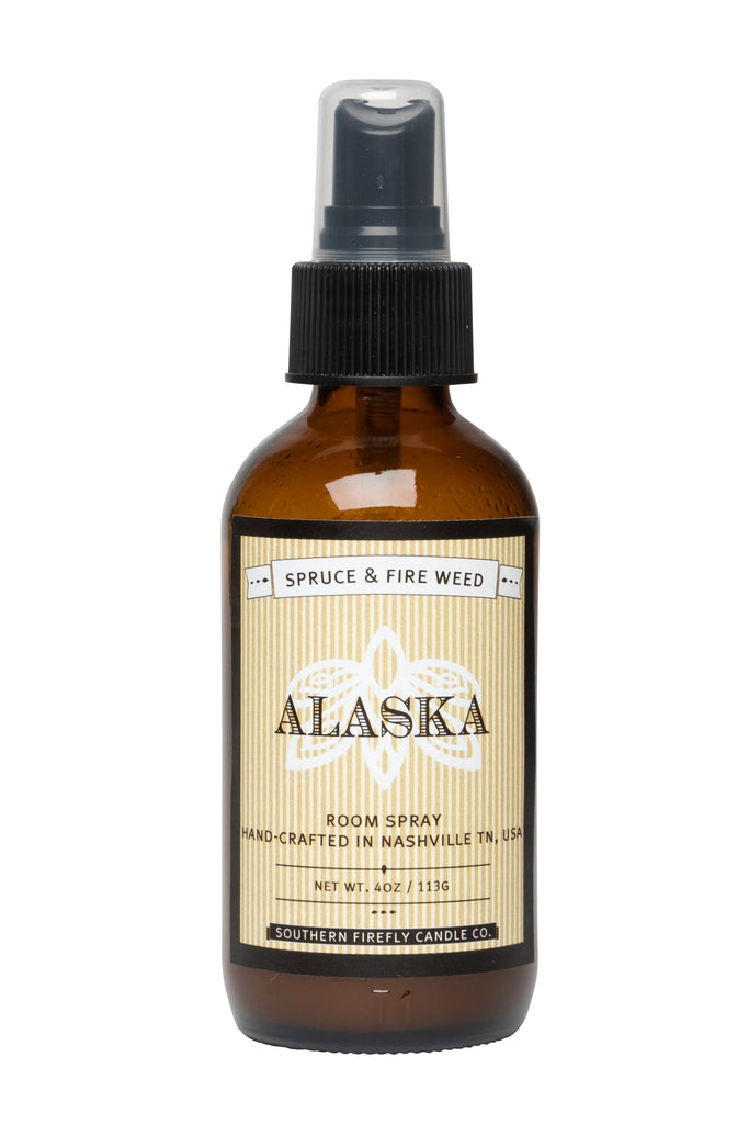 Alaska - Spruce and Fire Weed 4oz Room Spray