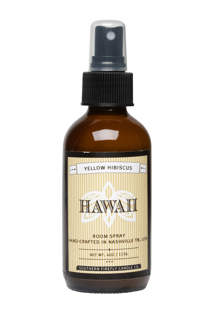 Hawaii - Yellow Hibiscus 4oz Room Spray