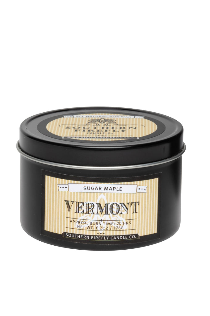 Vermont - Sugar Maple 8oz Travel Tin