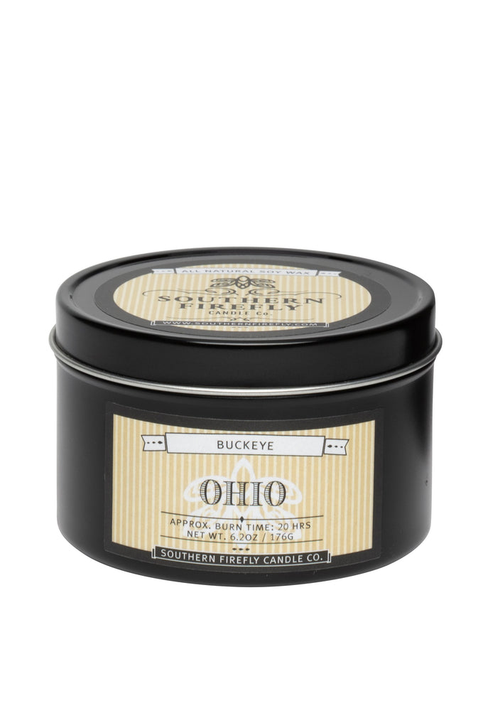 Ohio - Buckeye 8oz Travel Tin