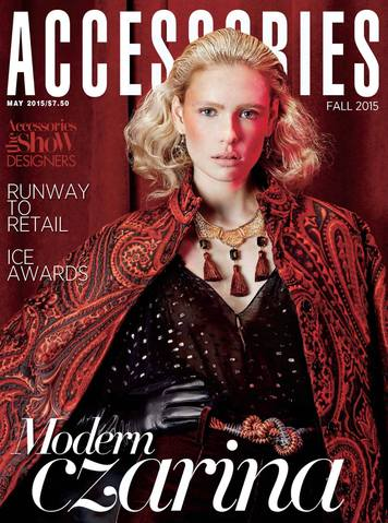 REALM Jewelry Accessories Magazine May 15 Cover