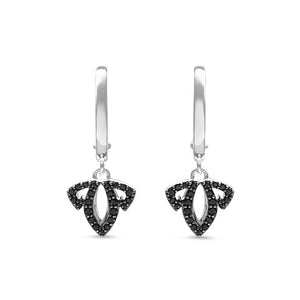 Domain Vanity Charmed Pavé Earring