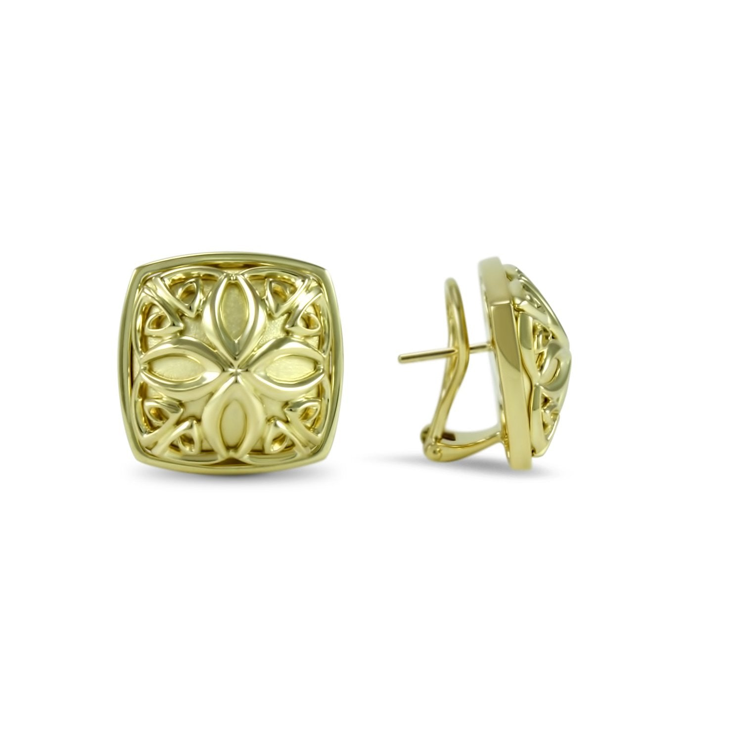 Insignia Empress Signature Medallion Earring
