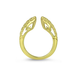 Sceptre Linea Python Stack Ring 2.0 in 18K Gold over Sterling Silver