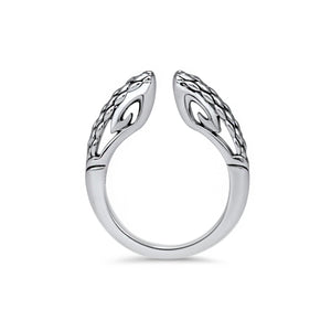 Sceptre Linea Python Stack Ring 2.0 in Sterling Silver