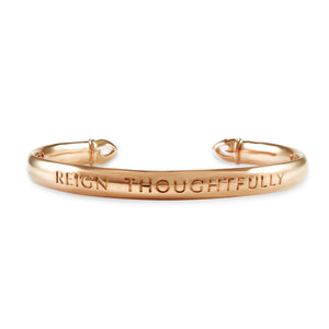 Reign Thoughtfully Cuff Bracelet