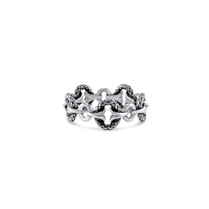 Tuileries Gate Stack Ring