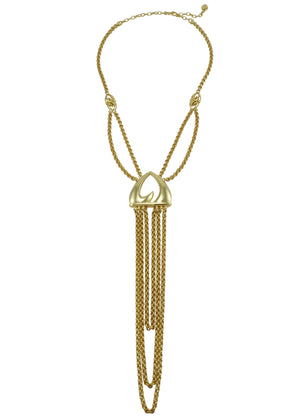 Majesty Luxe Neckpiece in 18K Gold over Sterling Silver
