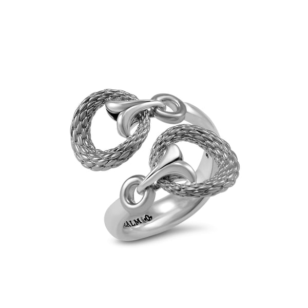 Tryst Rendezvous Wrap Ring in Sterling Silver