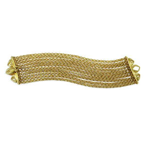 Domain Majesty Luxe Chain Bracelet in 18K Gold over Sterling Silver