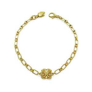 Insignia Délicat Chain Bracelet in 18K Gold over Sterling Silver