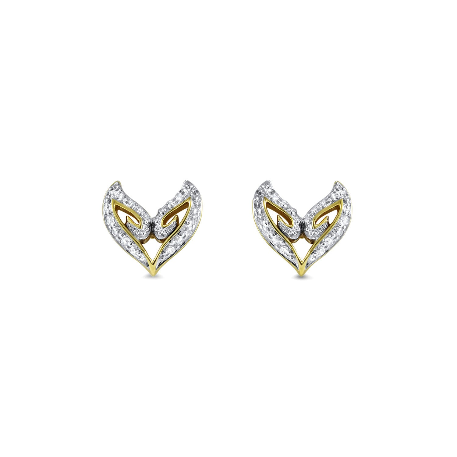 Realm Domain Vanity Pave Stud Earring bjTUi
