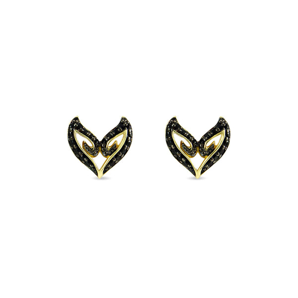 Victorious Pavé Stud Earring