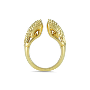 Sceptre Python Ring 13.0 in 18K Gold over Sterling Silver